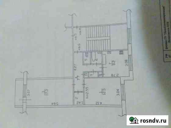 2-комнатная квартира, 54 м², 2/5 эт. Волосово