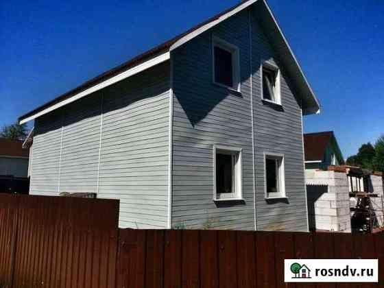 Дом 80 м² на участке 6 сот. Горбунки