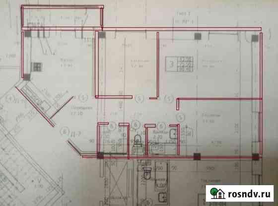 3-комнатная квартира, 80 м², 4/5 эт. Ставрополь
