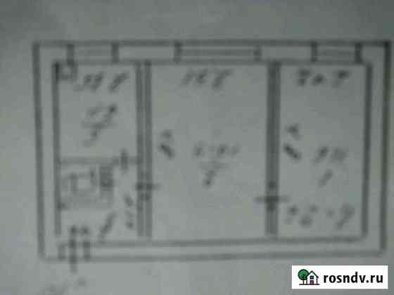 2-комнатная квартира, 38 м², 1/2 эт. Волосово