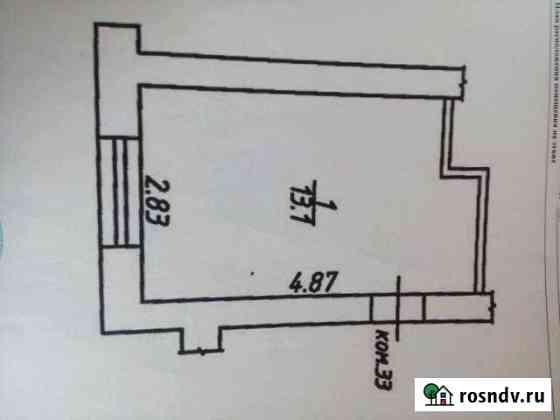 Комната 13 м² в 1-ком. кв., 3/5 эт. Людиново