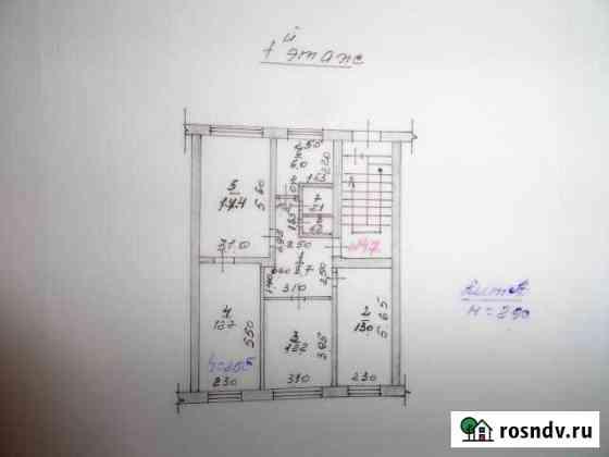 4-комнатная квартира, 74 м², 1/5 эт. Балахта