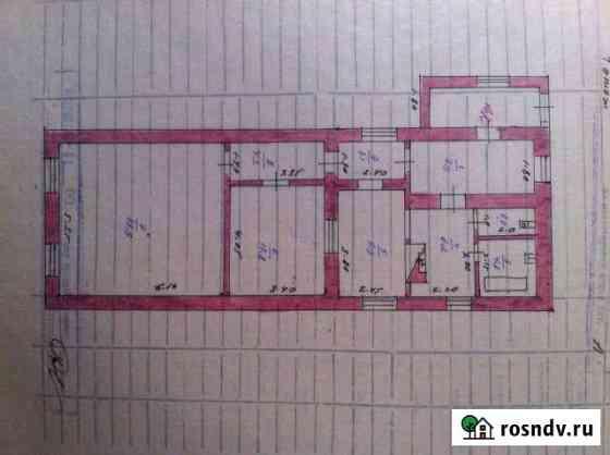 3-комнатная квартира, 89 м², 1/1 эт. Льгов
