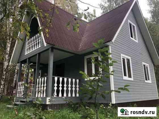 Дом 100 м² на участке 10 сот. Струнино