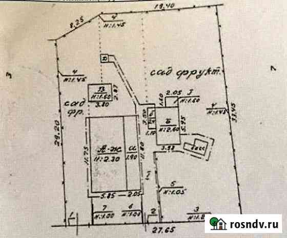 Дом 64.2 м² на участке 9 сот. Старый Крым