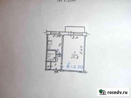 1-комнатная квартира, 30 м², 2/5 эт. Воргашор