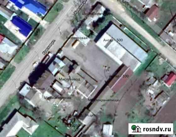 Цех производства подсолнечного масла, 5942 кв.м. Новолеушковская