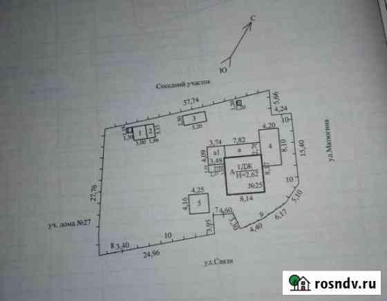 Дом 76.8 м² на участке 7.3 сот. Атамановка