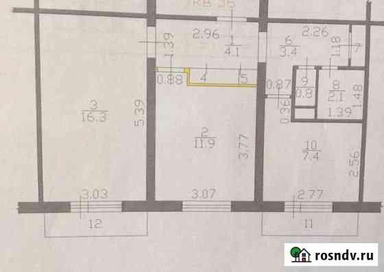 2-комнатная квартира, 47 м², 4/5 эт. Луховицы