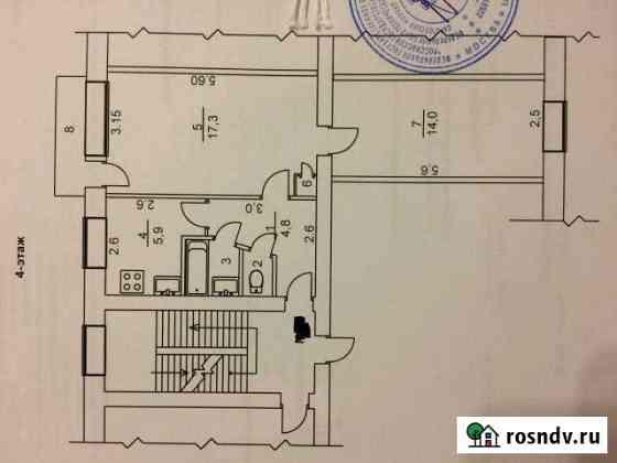 2-комнатная квартира, 46 м², 4/5 эт. Балашов