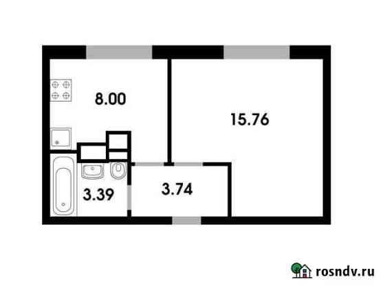 1-комнатная квартира, 30 м², 4/4 эт. Лесной Городок