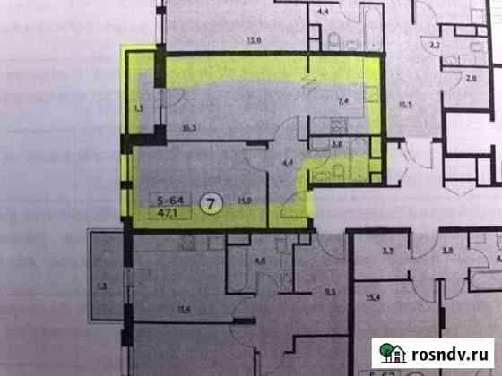 1-комнатная квартира, 47 м², 9/16 эт. Коммунарка