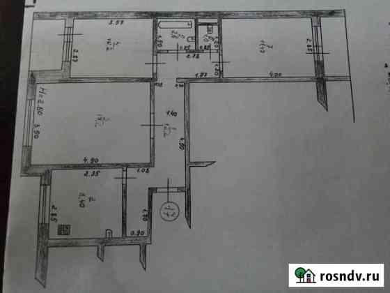 3-комнатная квартира, 65 м², 5/9 эт. Рузаевка