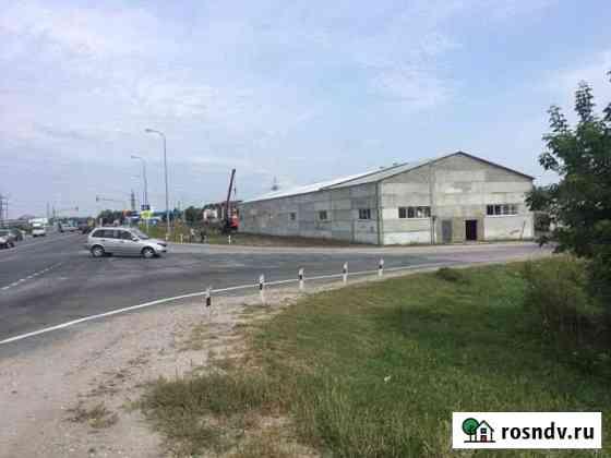 Продам склад 1200м2 первая линия федеральной дорог Обь