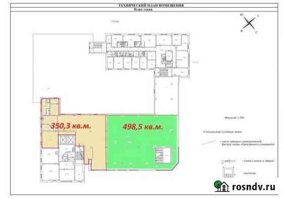 Торговые помещения 350.3 кв.м. и 498.5 кв.м. Санкт-Петербург