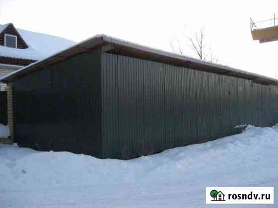 Подсобные тёплые помещения с хол. складом - 100 кв.м. Киров