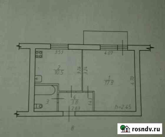 1-комнатная квартира, 35 м², 3/5 эт. Товарково