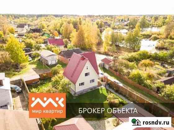 Дом 105 м² на участке 10 сот. Приозерск