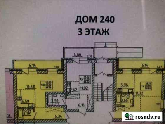 Студия, 42 м², 3/3 эт. Маркова