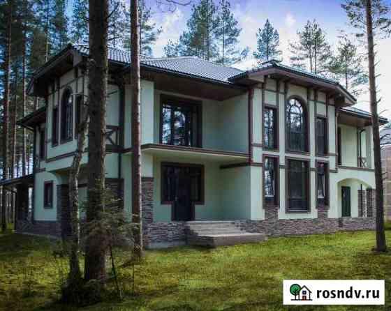 Коттедж 340 м² на участке 18 сот. Кузьмоловский