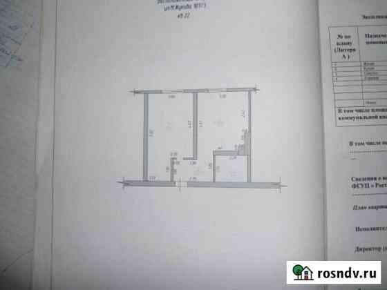 1-комнатная квартира, 36.9 м², 3/3 эт. Крымск