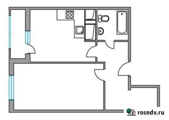 1-комнатная квартира, 40 м², 3/24 эт. Одинцово