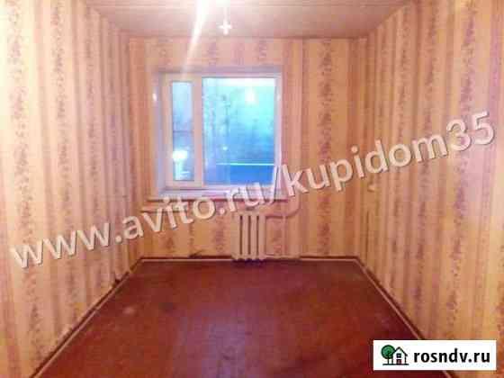 Комната 13 м² в 4-ком. кв., 2/5 эт. Череповец