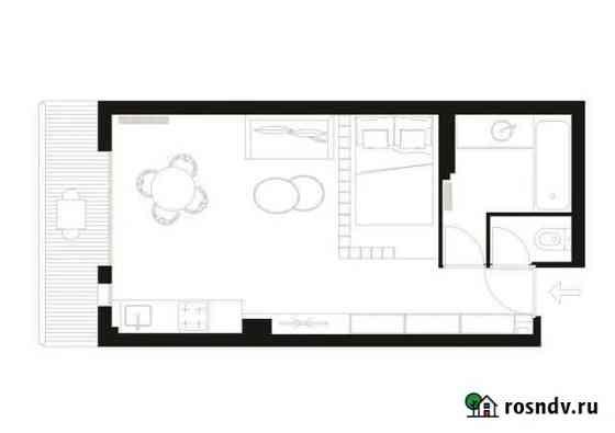 Комната 27 м² в 4-ком. кв., 2/2 эт. Севастополь