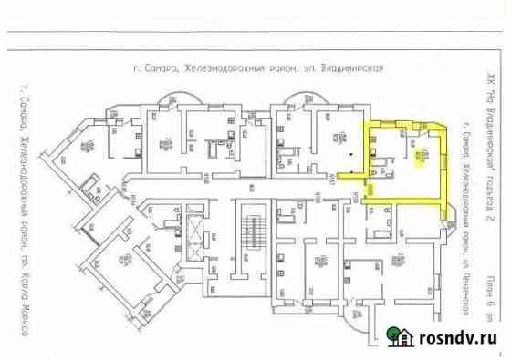 1-комнатная квартира, 47 м², 6/22 эт. Самара
