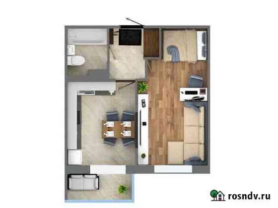 1-комнатная квартира, 36.3 м², 10/15 эт. Кудрово