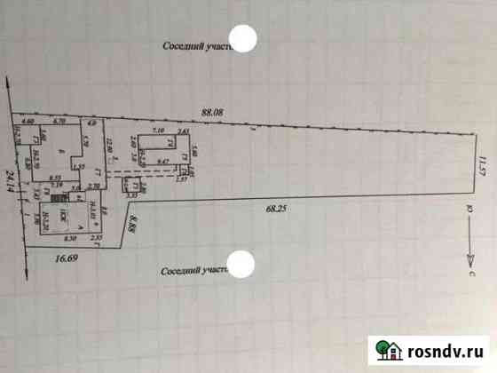 Дом 157 м² на участке 13 сот. Абинск