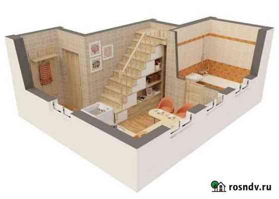 2-комнатная квартира, 38 м², 2/3 эт. Электроугли