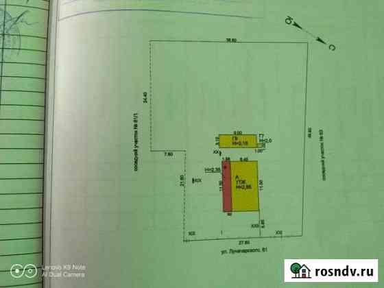 Дом 83 м² на участке 15 сот. Новомышастовская