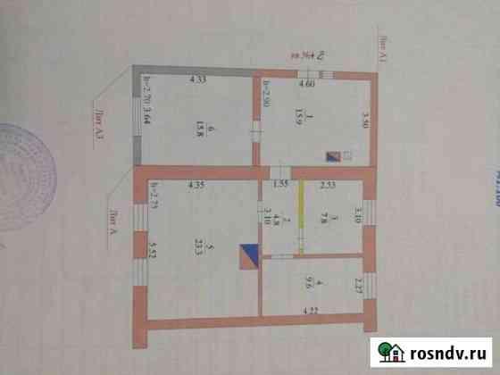 Дом 77 м² на участке 5 сот. Усмань