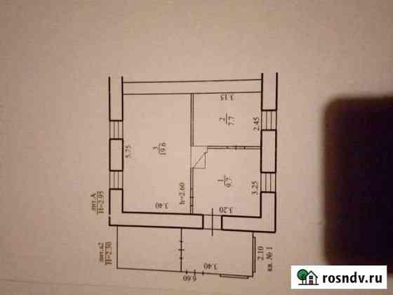 Дом 39 м² на участке 11 сот. Горный
