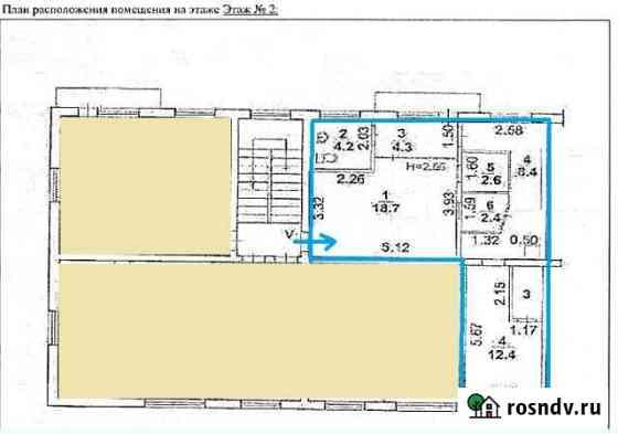 Офисное помещение, 55 кв.м. Волжский