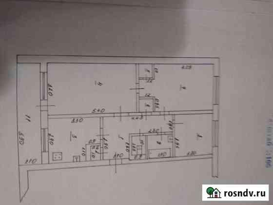 3-комнатная квартира, 60 м², 1/3 эт. Анастасиевская