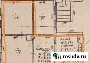 2-комнатная квартира, 50 м², 1/1 эт. Калач