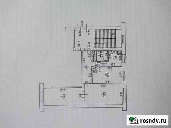 3-комнатная квартира, 58.3 м², 2/2 эт. Петушки
