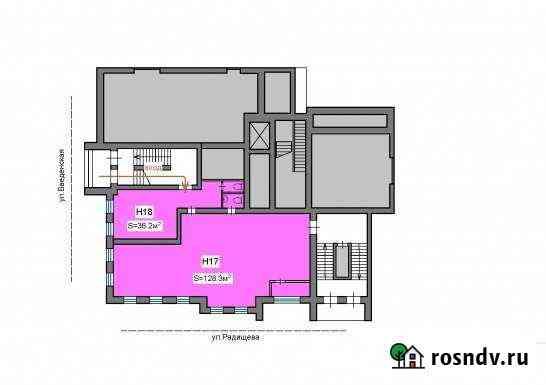 Коммерческое помещение в центре города, 164.5 кв.м. Рязань