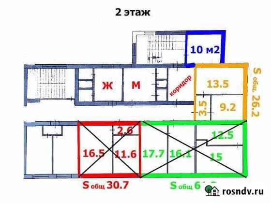 Офисные помещения, 16.6 кв.м. - 100 кв.м. Славянск-на-Кубани