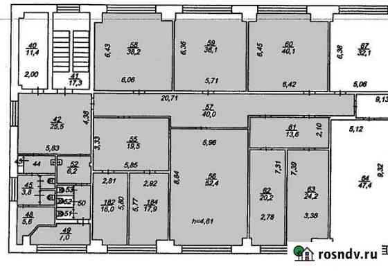 Красный Маяк, Офис из 10 помещ., 380.1 кв.м. Ярославль