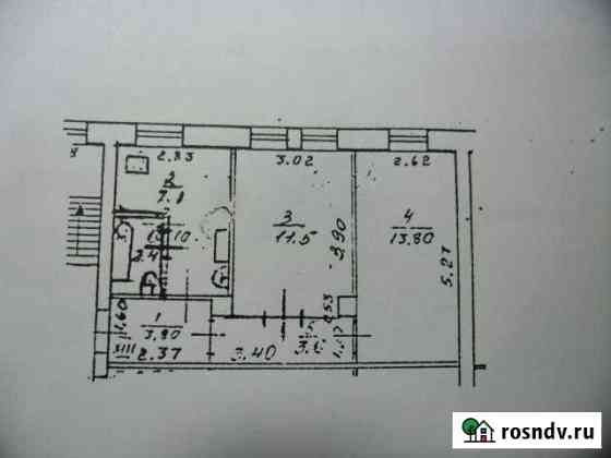 2-комнатная квартира, 42.2 м², 2/2 эт. Белоомут