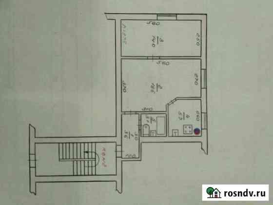 2-комнатная квартира, 45 м², 1/4 эт. Моздок