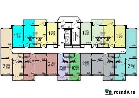 1-комнатная квартира, 42 м², 4/17 эт. Отрадное