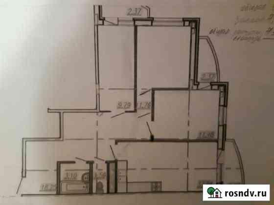 3-комнатная квартира, 81 м², 4/5 эт. Новые Лапсары
