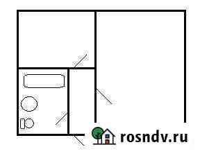 1-комнатная квартира, 23.7 м², 1/4 эт. Ивантеевка