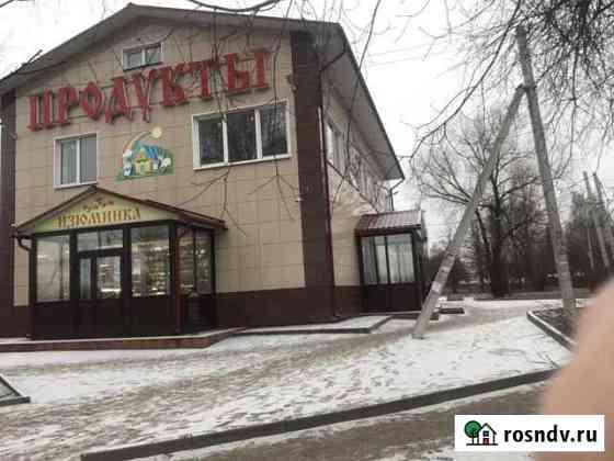 Здание с действующим продуктовым магазином Ново-Талицы