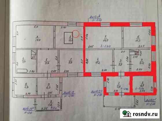 Дом 65 м² на участке 8 сот. Каширское