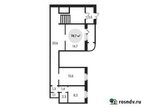 Продам помещение свободного назначения, 78.70 кв.м. Лобня